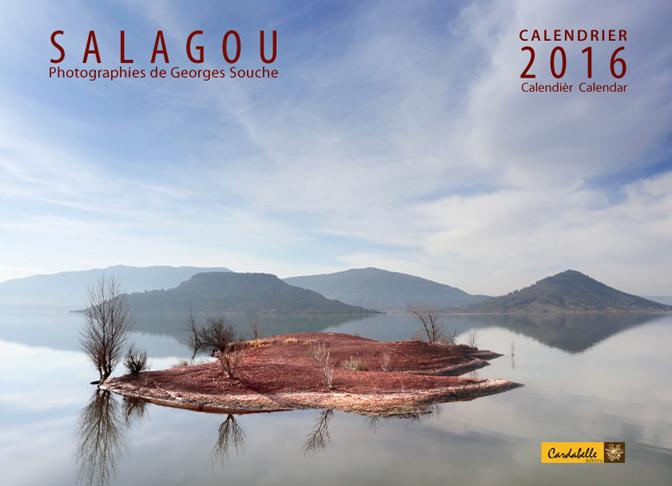 calendrier 2016 salagou