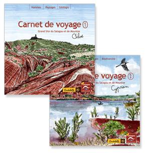 carnets de voyage Salagou